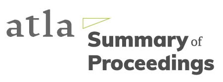 Atla Summary of Proceedings logo