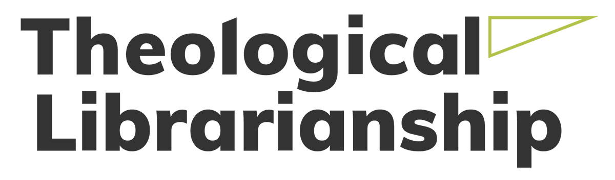 Theological Librarianship logo